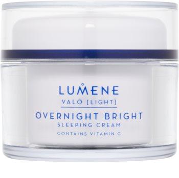 Lumene Valo [Light] освітлюючий нічний крем з вітаміном С